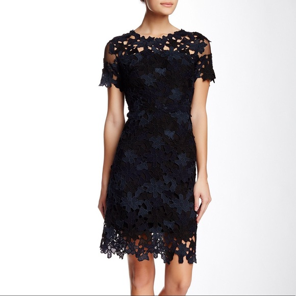 d8a14b0aed38b Elie Tahari Dresses & Skirts - Elie Tahari Ophelia Lace sheath dress Size 14